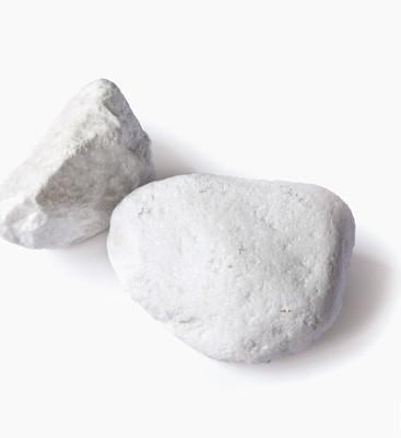 Stein Thassos weiß 60-100 mm