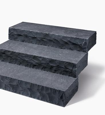 Blockstufe Basalt Sanoku Karat 100x34-36x15cm