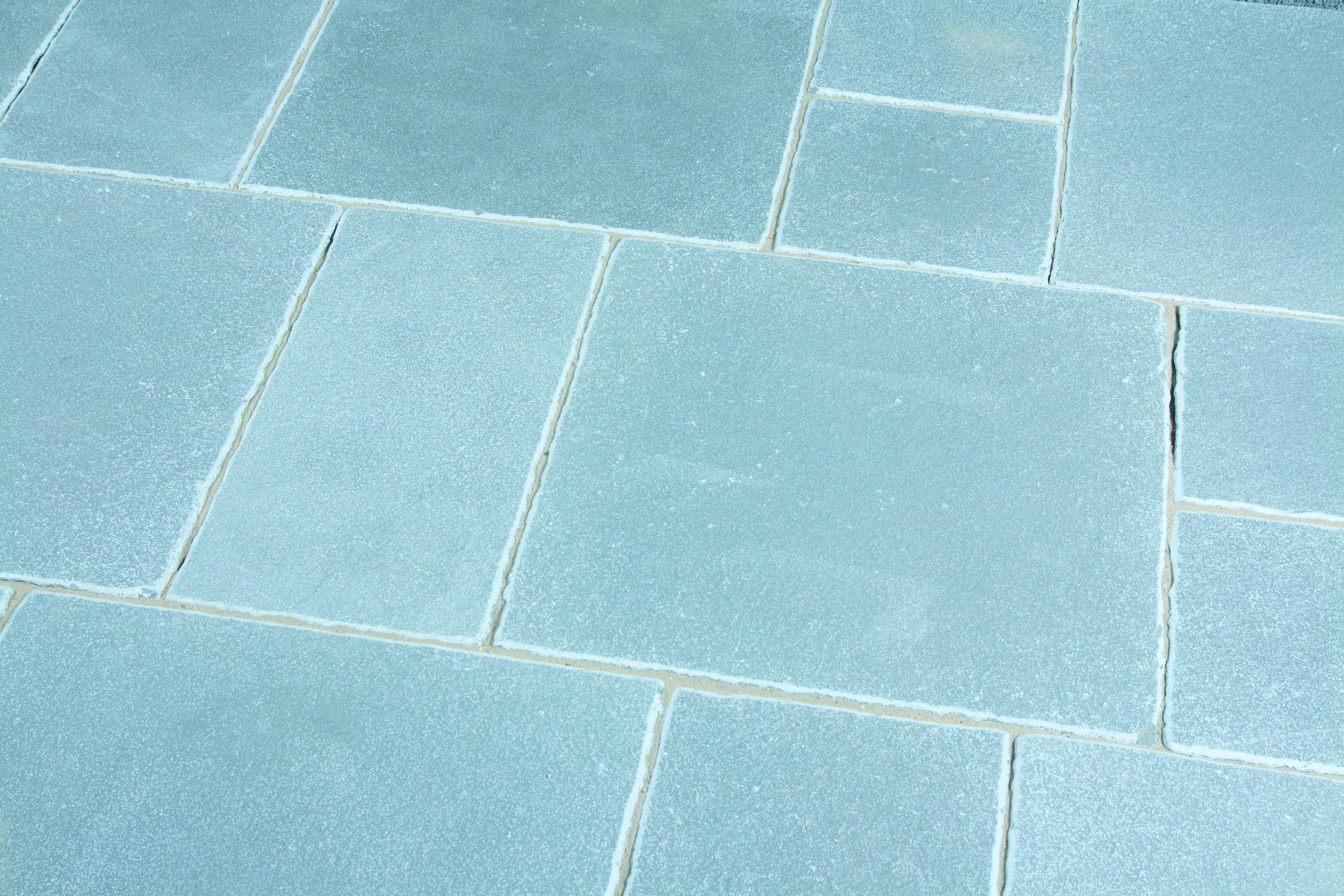 Marrakesch 60x60x3cm grau blau