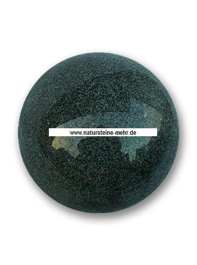 Kugel Granit poliert Gala 30cm mit Bohrung