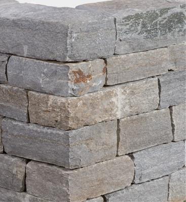 Mauerstein Gneis Luserna Valv12-15x18-25cm fr.Längen