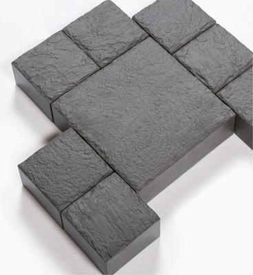 Pflasterstein Emperor Cube Basalto 20x10x6,5cm