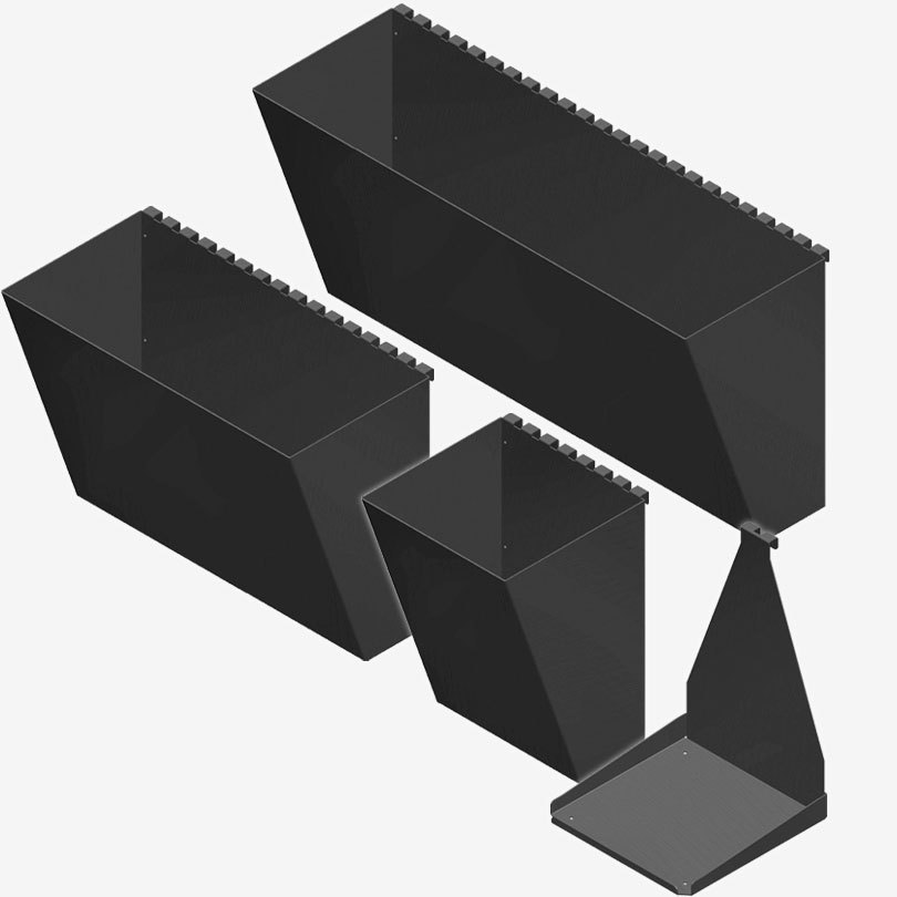 Pergone®  3ks Pflanzbehälter 60cm breit