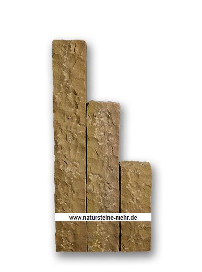 Palisade  Sandstein Mandra 12x12x50cm