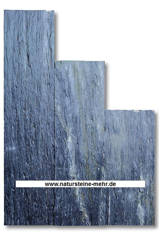 Palisade Schiefer 4/8x33x125cm