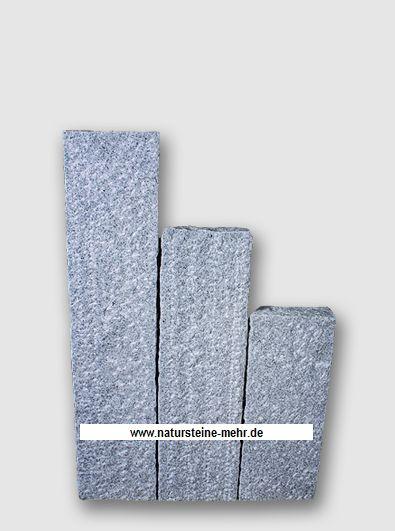 Palisade Granit Bravo Rustique 10x25x50cm