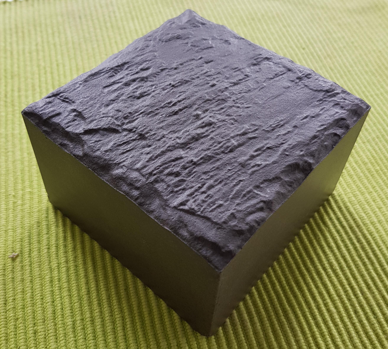 Pflasterstein Emperor Cube Basalto 10x10x6,5cm