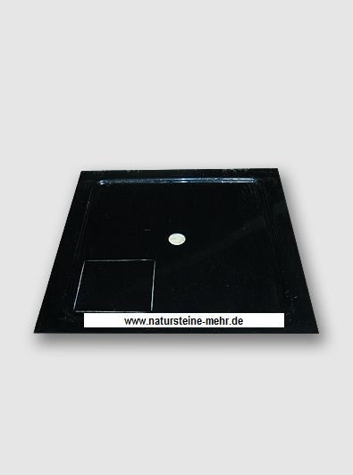 GFK Beckendeckel eckig 150x150 cm
