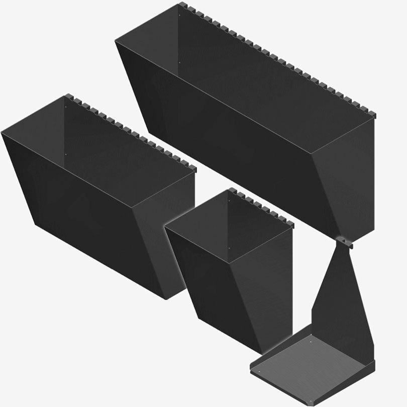 Pergone®  3ks Pflanzbehälter 20cm breit