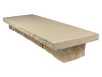 Abdeckplatten Sandstein Lemon 4x30x100cm